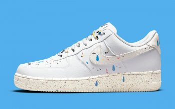 """Now Available: Nike Air Force 1 Low Splatter """"White"""""""