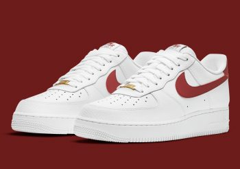 """Now Available: Nike Air Force 1 Low """"Team Red"""""""