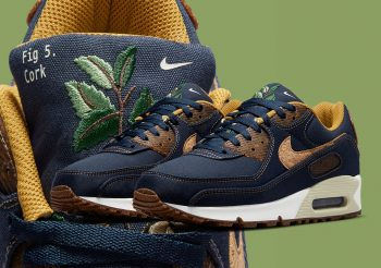"""Now Available: Nike Air Max 90 Cork """"Obsidian"""""""