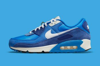 """Now Available: Nike Air Max 90 SE """"Signal Blue"""""""