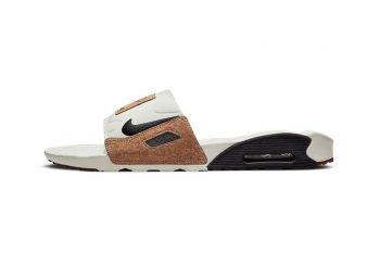 """Now Available: Nike Air Max 90 Slides """"Cork"""""""