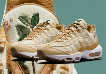 """Now Available: Nike Air Max 95 Cork """"Plant Wheat"""""""