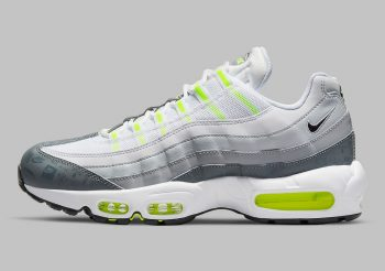 """Now Available: Nike Air Max 95 """"Grey Volt"""""""
