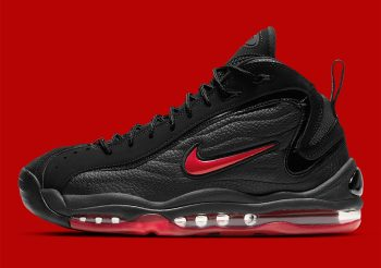 """Now Available: Nike Air Total Max Uptempo """"Black Red"""""""