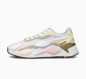 """Puma RS-X3 Runner """"White Pear"""": Sale Price: $52.49 (Retail $110)  – FREE SHIPPING  – use code:  – FFPUMA21  – at checkout"""
