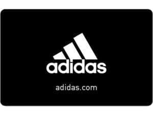 adidas $50 Gift Card (Email Delivery) + $15GC @Newegg $50