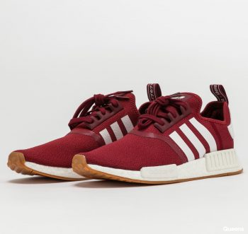 """adidas NMD R1 """"Burgundy Gum"""": Sale Price: $78.40 (Retail $140)  – FREE SHIPPING – use code:  – JULY –  at checkout"""