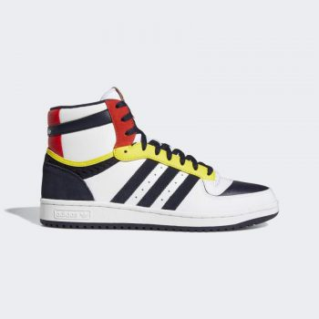 """adidas Top Ten Hi """"White Yellow"""": Sale Price: $60 (Retail $100)  – FREE SHIPPING – use code:  – ALL40 –  at checkout"""