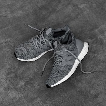 """adidas UltraBOOST 4.0 DNA """"Wool Grey"""": Sale Price: $144 (Retail $180)  – FREE SHIPPING – use code:  – SCR20 –  at checkout"""