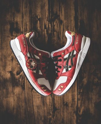 """ASICS Gel Lyte III OG """"Daruma Doll"""": Sale Price: $67 (Retail $120)  – Discount applied at checkout"""
