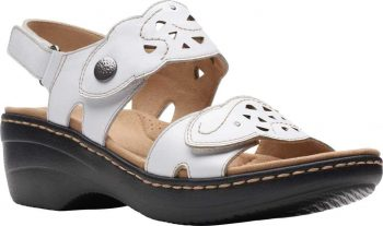 Clarks Merliah Dove Wedge Slingback Sandal (Women's) $40.90 at Shoes.com Free s/h [Use code 'AB34GRW7' at checkout]