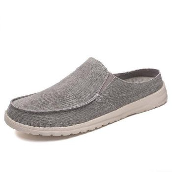 HOBIBEAR Mens Canvas/Silk Loafers from $19.59 + Free Shipping