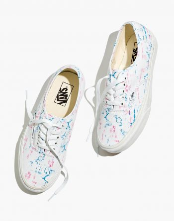 Madewell x Vans Authentic Lace-Up Sneakers (Tie-Dye Canvas) $21 + Free Shipping [Use code 'PSST' at checkout]