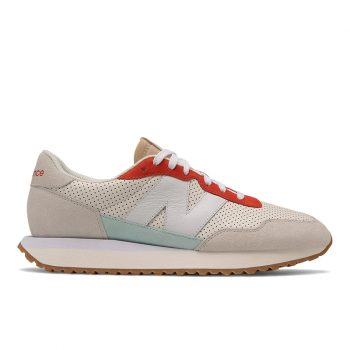 """New Balance 237 """"Cream"""": Sale Price: $71.25 (Retail $95)  – FREE SHIPPING – use code:  – NB25 –  at checkout"""