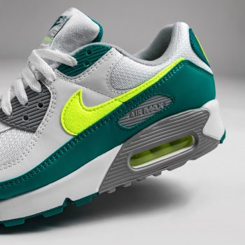 """Nike Air Max 90 OG """"Spruce Lime"""": Sale Price: $90.37 (Retail $140)  – FREE SHIPPING – use code:  – BEST20 –  at checkout"""