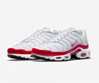 """Nike Air Max Plus """"OG University Red"""": Sale Price: $136 (Retail $160)  – FREE SHIPPING – use code:  – PARJUL15 –  at checkout"""