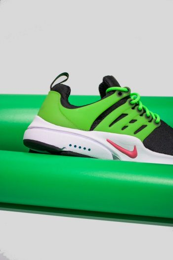 """Nike Air Presto """"Black Green"""": Sale Price: $78 (Retail $130)  – use code:  – APS40 –  at checkout – free shipping on orders $99+"""