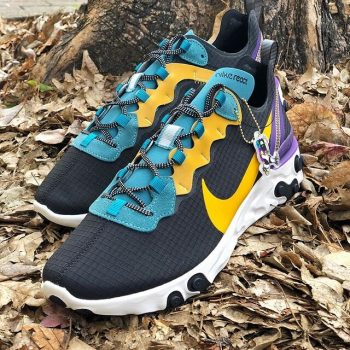 """Nike React Element 55 ACG """"Black Mineral"""" : Sale Price: $71.99 (Retail $140)  – FREE SHIPPING – Discount applied at checkout"""