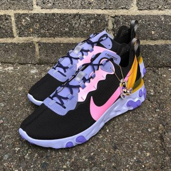 """Nike React Element 55 ACG """"Flamingo"""": Sale Price: $71.99 (Retail $140)  – FREE SHIPPING  – Discount applied at checkout"""