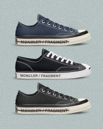 Now Available: 7 Moncler x Fragment x Converse Collection