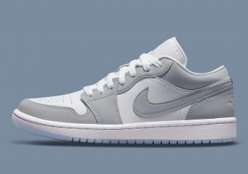 """Now Available: Air Jordan 1 Low (W) """"Wolf Grey"""""""
