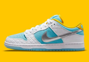 """Now Available: FTC x Nike SB Dunk Low Pro """"White Lagoon"""""""