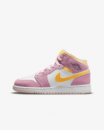 """Now Available: Kid's Air Jordan 1 Mid SE """"Arctic Pink"""""""