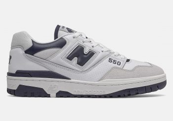 """Now Available: New Balance 550 """"White Navy"""""""