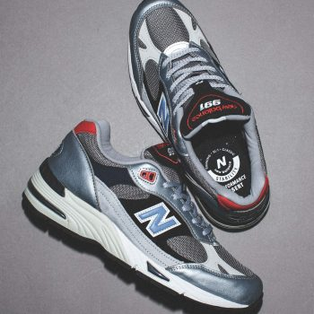 """Now Available: New Balance 991 UK """"Silver Black"""""""