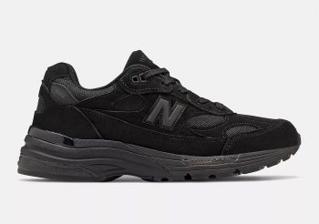 """Now Available: New Balance 992 """"Triple Black"""""""
