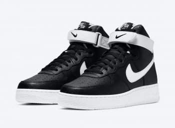 """Now Available: Nike Air Force 1 High """"Black White"""""""