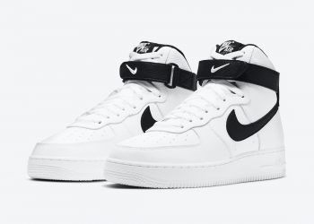 """Now Available: Nike Air Force 1 High """"White Black"""""""