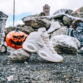 """Reebok Question Mid """"Boktober"""": Sale Price: $103.99 (Retail $150)  – FREE SHIPPING – use code:  – SCR20 –  at checkout"""