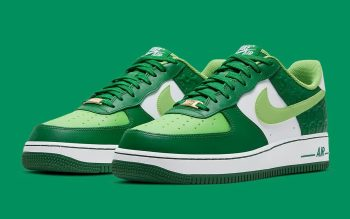 """Restock: Nike Air Force 1 Low """"St Patrick's Day"""" (2021)"""
