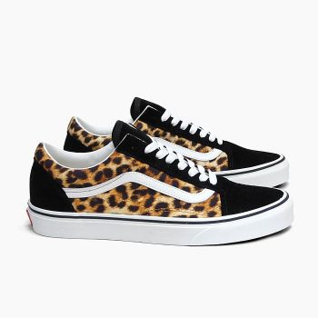 """Vans Old Skool """"Leopard"""": Sale Price: $34.99 (Retail $70)  – free shipping on orders $50+  – Discount applied at checkout"""