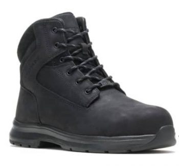Wolverine Men's Logan ESD Steel Toe 6″ Boots (black or brown) $60 + Free Shipping