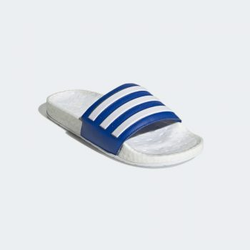 """adidas Adilette Boost Slides """"Royal Blue"""": Sale Price: $32.18 (Retail $60)  – FREE SHIPPING – use code:  – ALLACCESS –  at checkout"""