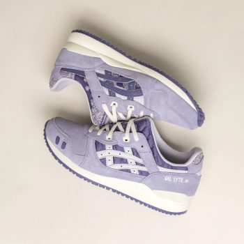 """ASICS Gel Lyte III OG """"Ash Rock"""": Sale Price: $96 (Retail $120)  – FREE SHIPPING – use code:  – AUG20 –  at checkout"""