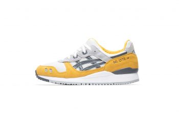 """ASICS Gel Lyte III OG """"Sunflower"""": Sale Price: $88 (Retail $110)  – FREE SHIPPING – use code:  – AUG20 –  at checkout"""