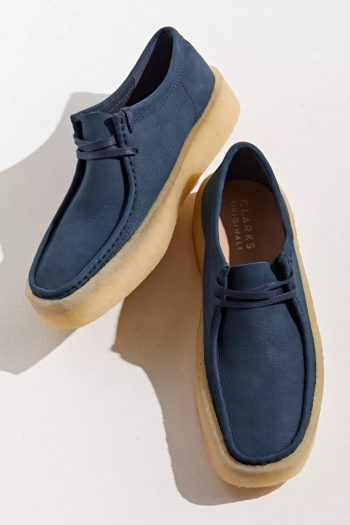 """Clarks Wallabee Cup Boot """"Navy"""": Sale Price: $84.99 (Retail $170)  – FREE SHIPPING"""