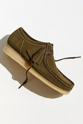 """Clarks Wallabee Suede Boot """"Olive"""": Sale Price: $74.99 (Retail $150)  – FREE SHIPPING"""