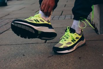 """New Balance 992 OG """"Volt"""": Sale Price: $108 (Retail $180)  – FREE SHIPPING – use code:  – 40NB –  at checkout"""