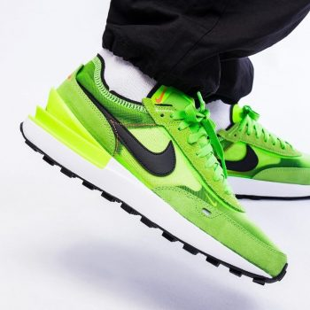 """Nike Waffle One """"Electric Green"""": Sale Price: $59.40 (Retail $100)"""