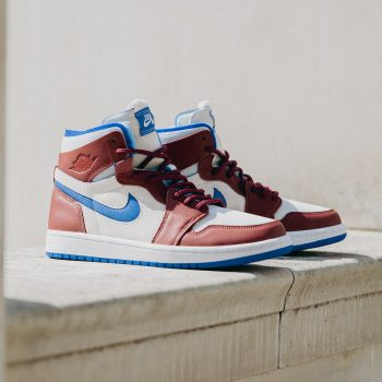 """Now Available: Air Jordan 1 Zoom Comfort (W) """"Redstone"""""""