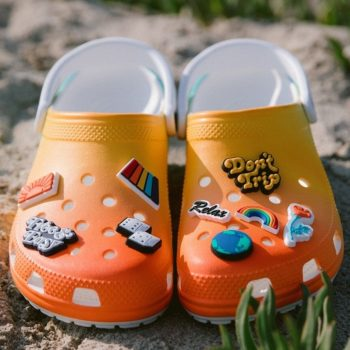 """Now Available: Free & Easy x Crocs Classic Clog """"Sunset"""""""