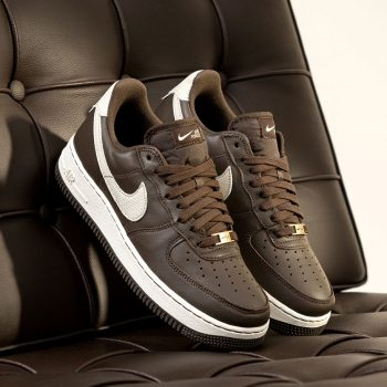 """Now Available: Nike Air Force 1 Craft """"Dark Chocolate"""""""