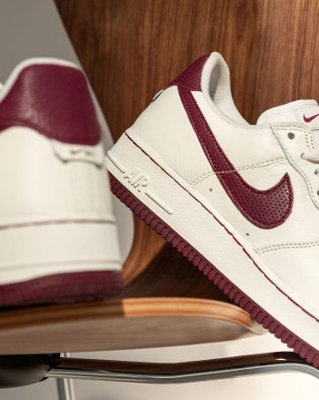 """Now Available: Nike Air Force 1 Low Craft """"Dark Beetroot"""""""