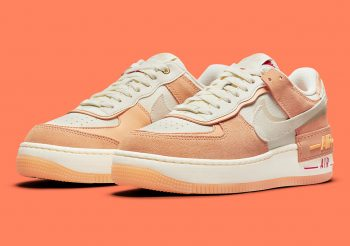 """Now Available: Nike Air Force 1 Shadow (W) """"Cashmere"""""""
