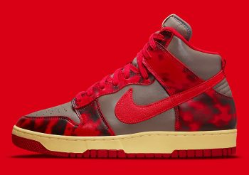"""Now Available: Nike Dunk High 1985 """"Acid Red"""""""