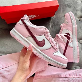 """Now Available: Nike Dunk Low (GS) """"Pink Foam"""""""